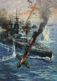 721px-INF3-45 Aircraft attack British battleship Artist Terence Cuneo.jpg
